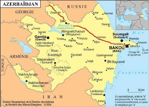 AzerbaijanMap
